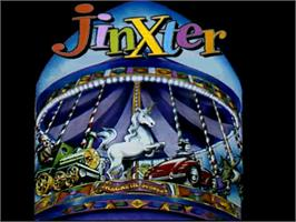 Title screen of Jinxter on the Commodore Amiga.