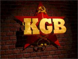Title screen of KGB on the Commodore Amiga.