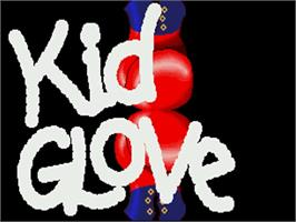 Title screen of Kid Gloves on the Commodore Amiga.