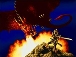 Title screen of Leander on the Commodore Amiga.