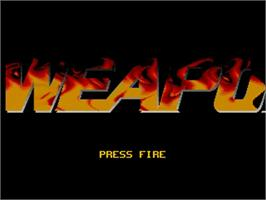 Title screen of Lethal Weapon on the Commodore Amiga.