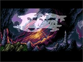 Title screen of Lionheart on the Commodore Amiga.
