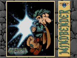 Title screen of Mind Bender on the Commodore Amiga.