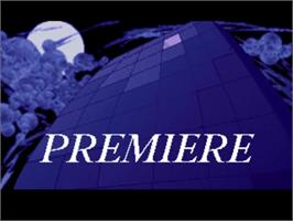 Title screen of Premiere on the Commodore Amiga.