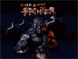 Title screen of Shadow Fighter on the Commodore Amiga.