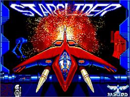 Title screen of Starglider on the Commodore Amiga.