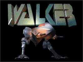 Title screen of Walker on the Commodore Amiga.