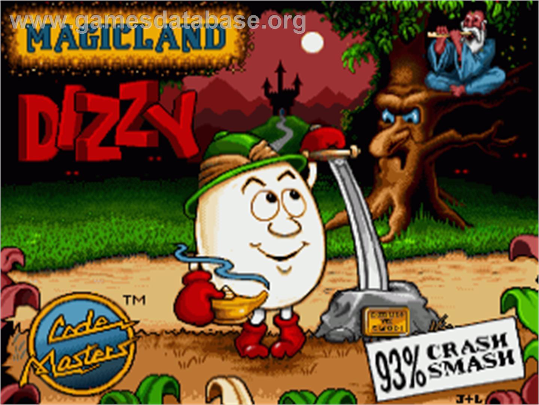 Magicland Dizzy - Commodore Amiga