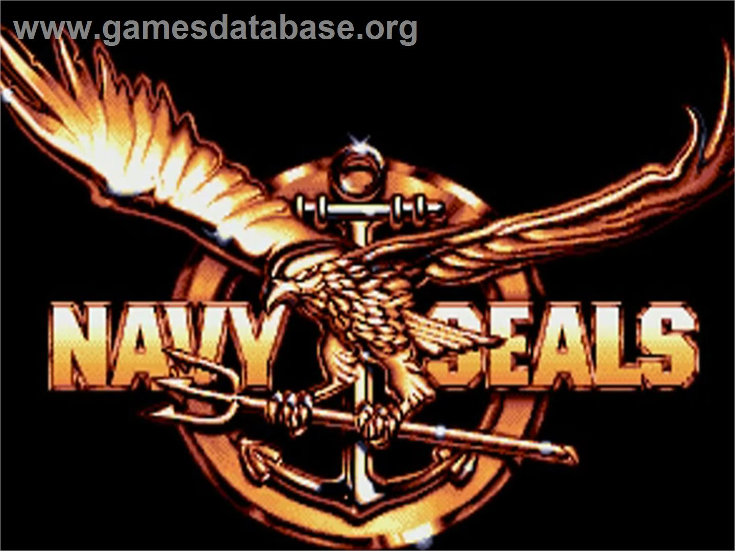 Navy Seals - Commodore Amiga - Artwork - Title Screen