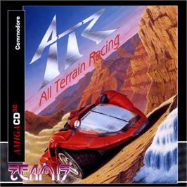 Box cover for ATR: All Terrain Racing on the Commodore Amiga CD32.