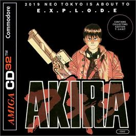 Box cover for Akira on the Commodore Amiga CD32.