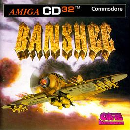 Box cover for Banshee on the Commodore Amiga CD32.