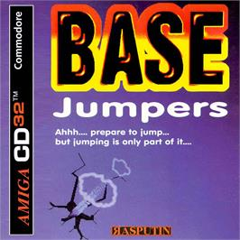 Box cover for Base Jumpers on the Commodore Amiga CD32.