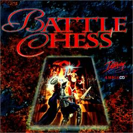 Box cover for Battle Chess on the Commodore Amiga CD32.