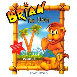 Box cover for Brian the Lion on the Commodore Amiga CD32.