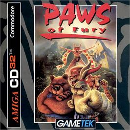 Box cover for Brutal: Paws of Fury on the Commodore Amiga CD32.