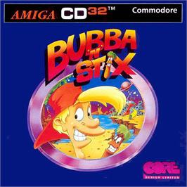 Box cover for Bubba 'n' Stix on the Commodore Amiga CD32.