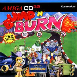 Box cover for Bump 'n' Burn on the Commodore Amiga CD32.