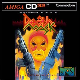 Box cover for Death Mask on the Commodore Amiga CD32.