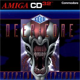 Box cover for Deep Core on the Commodore Amiga CD32.