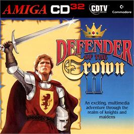 Box cover for Defender of the Crown 2 on the Commodore Amiga CD32.