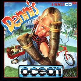 Box cover for Dennis on the Commodore Amiga CD32.