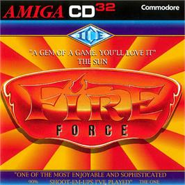 Box cover for Fire Force on the Commodore Amiga CD32.