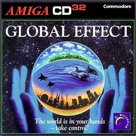 Box cover for Global Effect on the Commodore Amiga CD32.