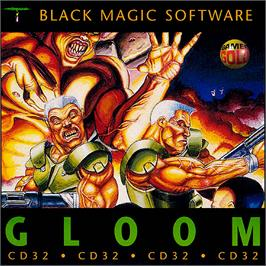 Box cover for Gloom on the Commodore Amiga CD32.