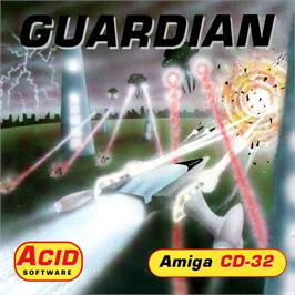 Box cover for Guardian on the Commodore Amiga CD32.