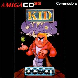 Box cover for Kid Chaos on the Commodore Amiga CD32.