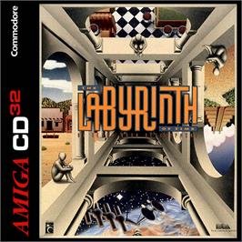 Box cover for Labyrinth of Time on the Commodore Amiga CD32.