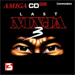 Box cover for Last Ninja 3 on the Commodore Amiga CD32.