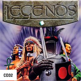 Box cover for Legends on the Commodore Amiga CD32.