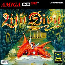 Box cover for Litil Divil on the Commodore Amiga CD32.