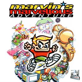 Box cover for Marvin's Marvellous Adventure on the Commodore Amiga CD32.