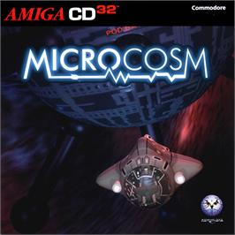 Box cover for Microcosm on the Commodore Amiga CD32.