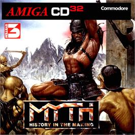 Box cover for Myth: History in the Making on the Commodore Amiga CD32.