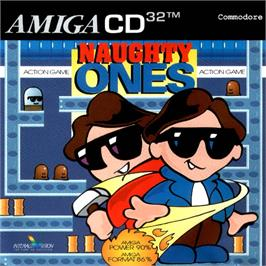 Box cover for Naughty Ones on the Commodore Amiga CD32.