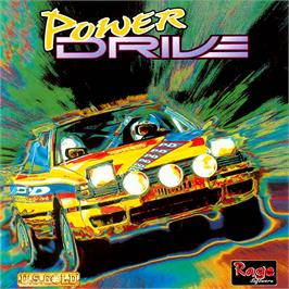Box cover for Power Drive on the Commodore Amiga CD32.
