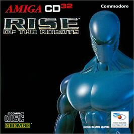 Box cover for Rise of the Robots on the Commodore Amiga CD32.