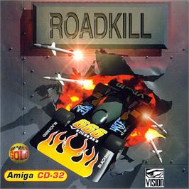 Box cover for Roadkill on the Commodore Amiga CD32.