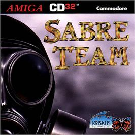 Box cover for Sabre Team on the Commodore Amiga CD32.