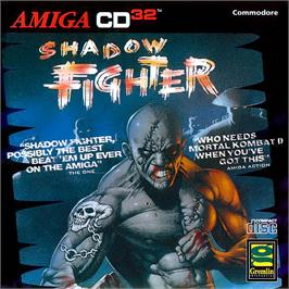 Box cover for Shadow Fighter on the Commodore Amiga CD32.