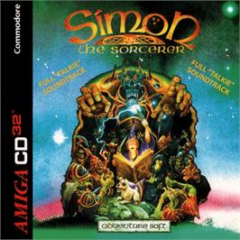 Box cover for Simon the Sorcerer on the Commodore Amiga CD32.