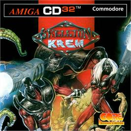 Box cover for Skeleton Krew on the Commodore Amiga CD32.
