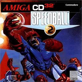 Box cover for Speedball 2: Brutal Deluxe on the Commodore Amiga CD32.