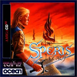 Box cover for Speris Legacy on the Commodore Amiga CD32.