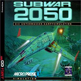 Box cover for Subwar 2050 on the Commodore Amiga CD32.