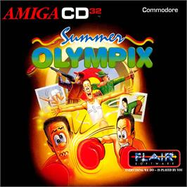 Box cover for Summer Olympix on the Commodore Amiga CD32.